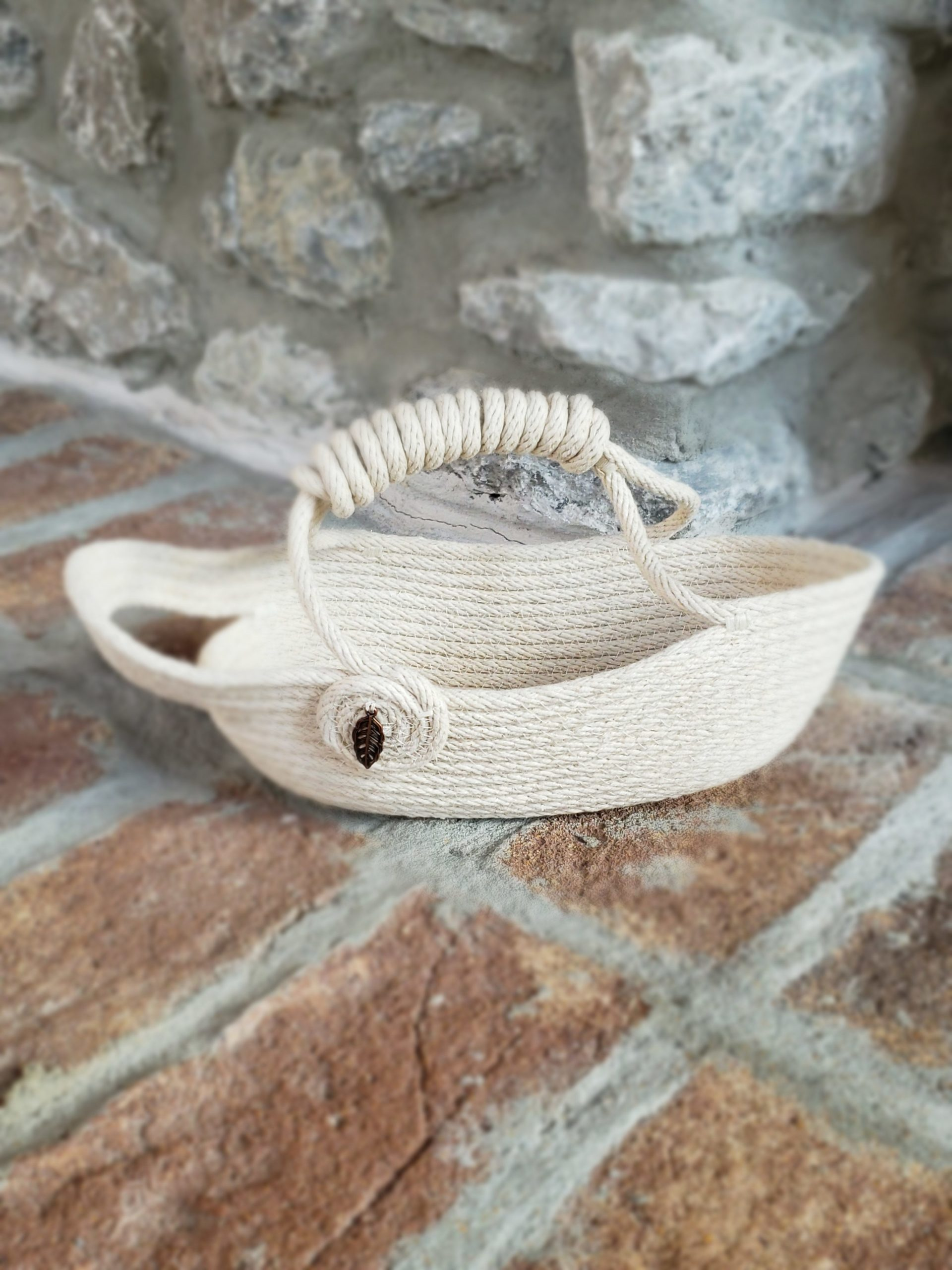 Rope Wine Basket